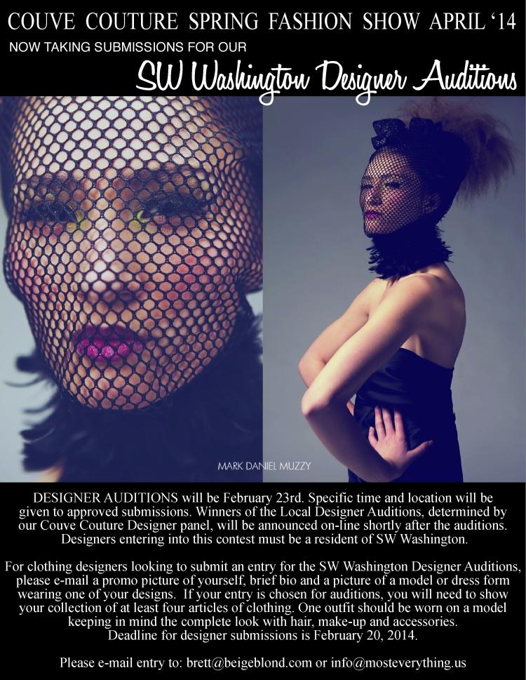 Designer contest poster FB