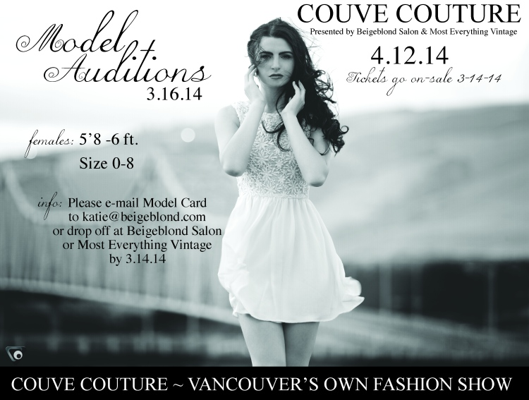 CC '14 model auditions