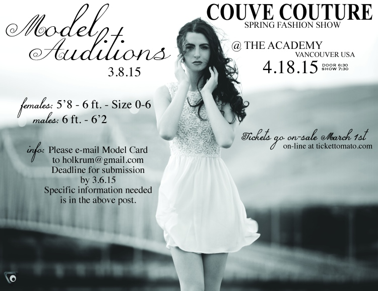 CC '15 model auditions
